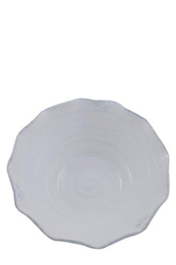 Poterie du Château de Grignan Frans aardewerk witte saladeschaal
