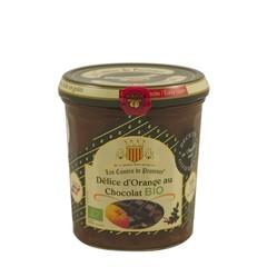 Les Comtes de Provence Chocolade met sinaasappel, bio 350 gr.