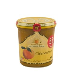 Les Comtes de Provence Mediterrane jam van mandarijnen uit Frankrijk 340 gr.