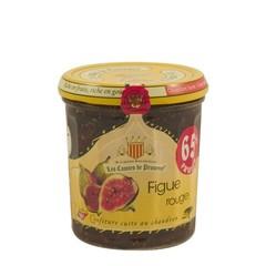 Les Comtes de Provence Mediterrane jam van rode vijgen 340 gr.