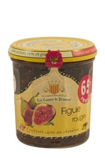 Les Comtes de Provence Mediterrane jam van rode vijgen 340 gr, Les Comptes de Provence