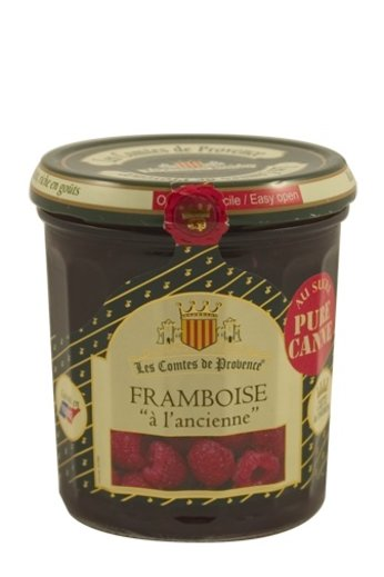 Les Comtes de Provence Traditionele Frambozen 370 gr, Les Comtes de Provence