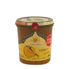 Les Comtes de Provence Mediterrane jam van meloen en vanille 340 gr.