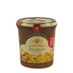 Les Comtes de Provence Traditionele gele Pruimen jam 370 gr.
