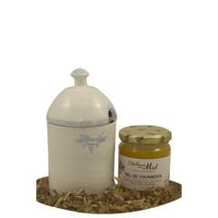 L'esprit provençal Cadeauset: Frans aardewerk Honingpot met een pot honing