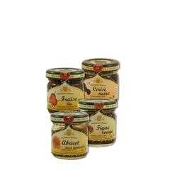 L'esprit provençal Cadeauset: Jam 4 potjes 40 gr assorti