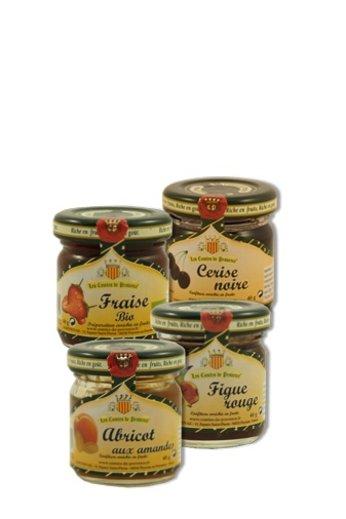 L'esprit provençal Cadeauset 4 potjes jam à 40 gr van Les Comtes de Provence
