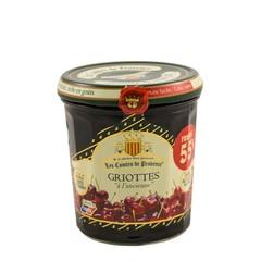 Les Comtes de Provence Franse jam van Griotte kersen 370 gr.