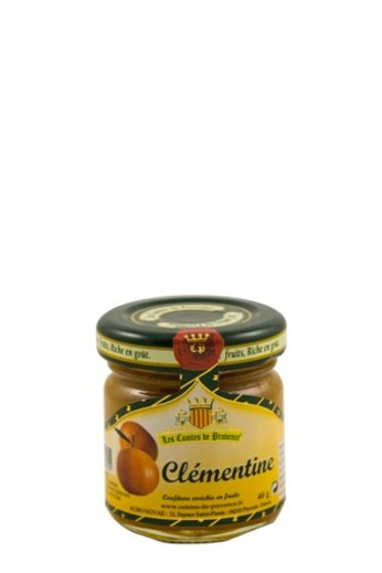 Les Comtes de Provence Franse mediterrane jam van mandarijnen uit Corsica 40 gr, Les Comtes de Provence