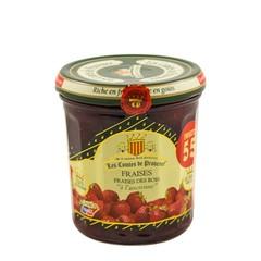 Les Comtes de Provence Franse jam van bosaardbeien 370 gr.