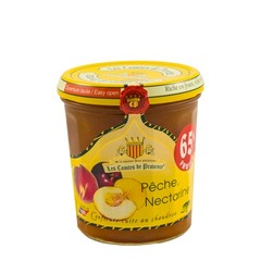 Les Comtes de Provence Franse mediterrane jam van Perzik en Nectarine 340 gr.