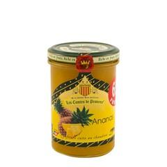 Les Comtes de Provence Franse jam van Ananas 240 gr..