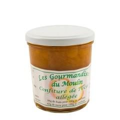 Moulin Jouve Franse Perzik jam met 84% fruit! Pot: 350 gr.