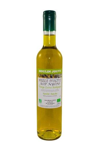Moulin Jouve Franse olijfolie AOP Nyons vierge extra BIO 75 cl Moulin Jouve
