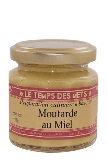 Le Temps des Mets Franse mosterd met honing 100 gram van Le Temps des Mets