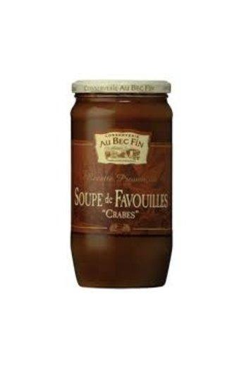 Au Bec Fin Soep van crabben 800 ml (Soupe de Favouilles) van Au-Bec-Fin