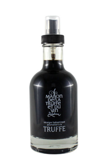 Maison de la Truffe et du Vin Balsamico wijnazijn met truffelaroma (Vinaigre Balsamico aromatisé à la truffe) spray 200 ml Maison de la Truffe et du Vin