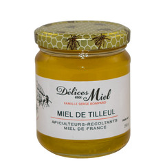 Délices au Miel Franse Lindebloesem honing 250 gr
