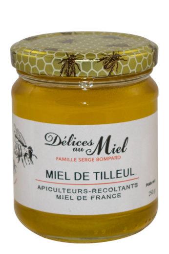 Délices au Miel Franse Lindebloesem honing 250 gr van Délices au Miel