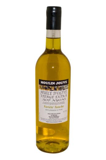 Moulin Jouve Franse olijfolie AOP Nyons vierge extra Bouteille Bordelaise 75 cl