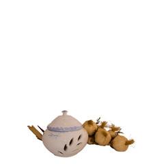 Poterie du Château de Grignan Frans aardewerk knoflookpot