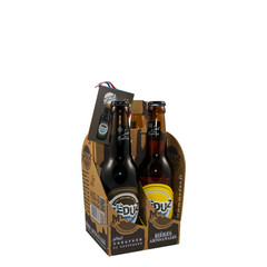 Brasserie Artisanal Meduz Frans bier Meduz set 4 smaken met brune