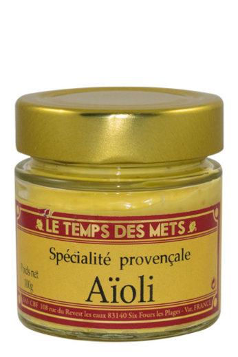 Le Temps des Mets Knoflook mayonaise, Provençaalse specialiteit, 100 gr