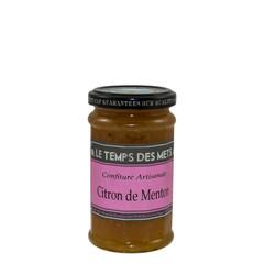 Le Temps des Mets Confiture citroen uit Menton 225 gr.