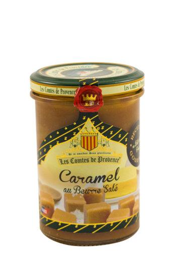 Les Comtes de Provence Caramel met gezouten boter 250 gr. van Les Comtes de Provence