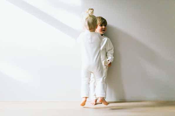 Bow Tie Jumpsuit - Soft White