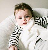 Classic Baby Scarf - Soft White