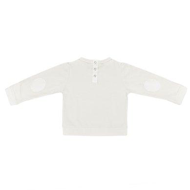 Fancy V Sweat - Soft White