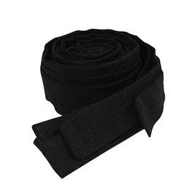 Ribbons bed- playpenbumper Black