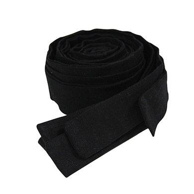 Linten bed- boxbumper Black