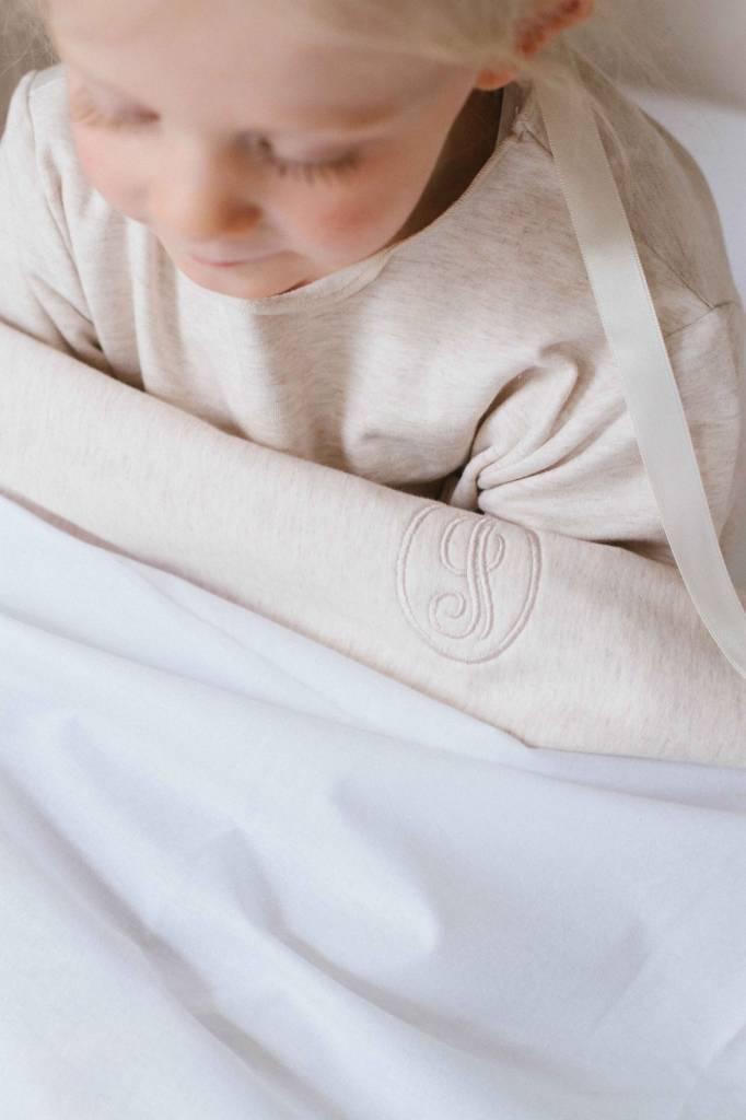 Crib and cot sheet - Sand