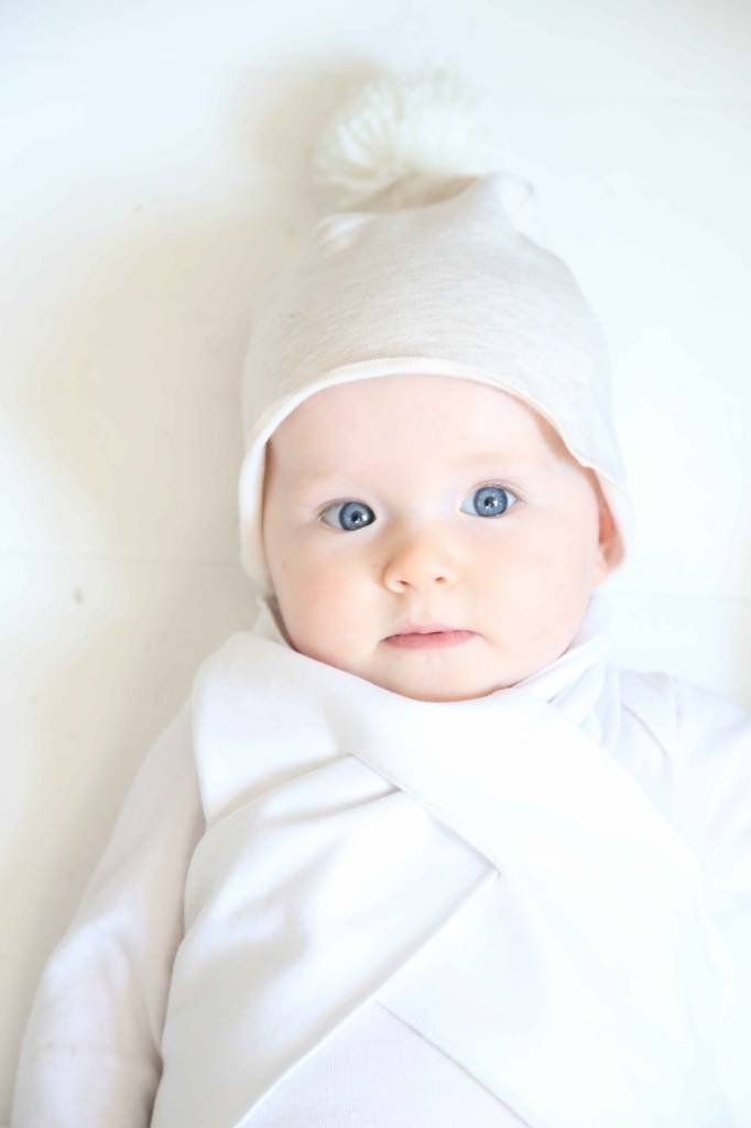 Classic Baby Scarf - Snow White