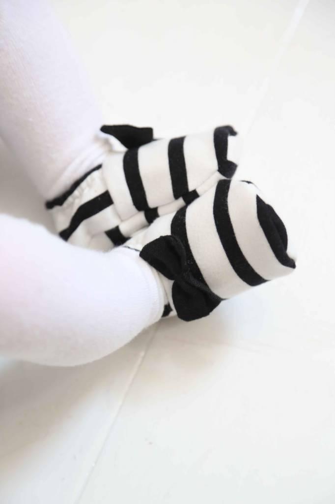 Bow Tie Booties - Breton