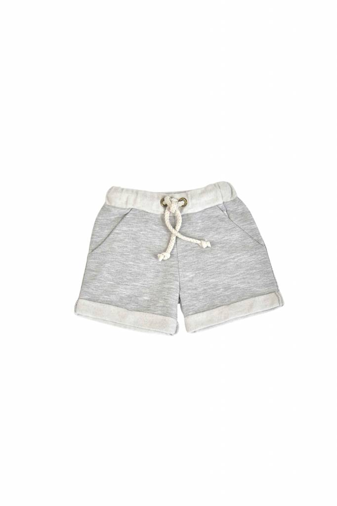 Classic Sweat Shorts - Stone