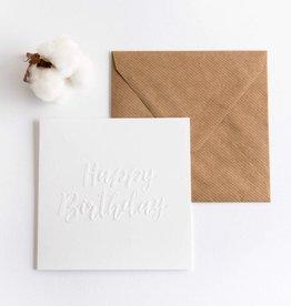 Kaart - Happy Bday