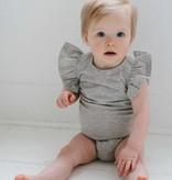 Ruffled Bodysuit - Stone (NEW)