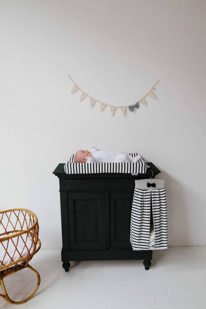 Opbergzak voor luiers -  Breton + Black & Stone