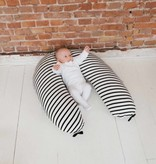 Nursing pillow cover - Breton + Black & Stone