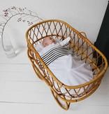 Crib and cot sheet - Breton