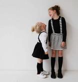 Girls Collar Tee (long sleeve) - Black