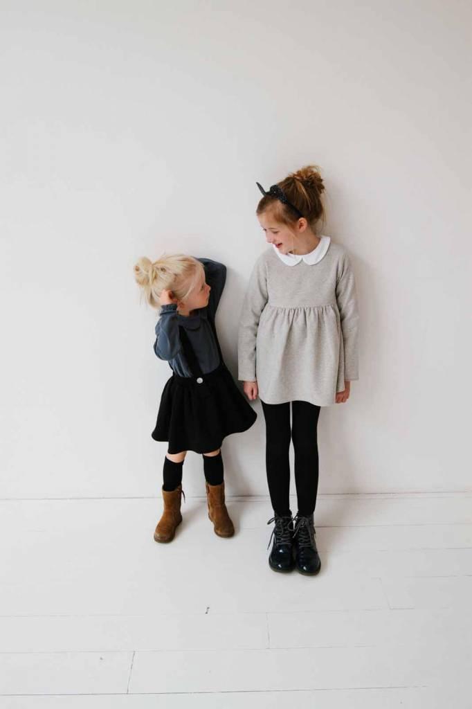 Suspender Skirt - Black