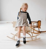 Dungaree Dress - Stone