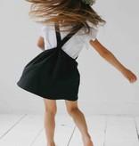 Dungaree Dress - Black