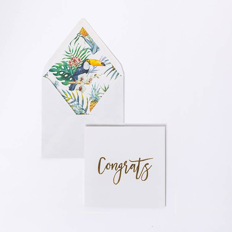 Card - Congrats Gold