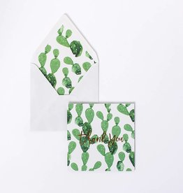 Card - Cactus Thank You