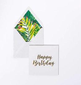 Kaart - Happy Birthday